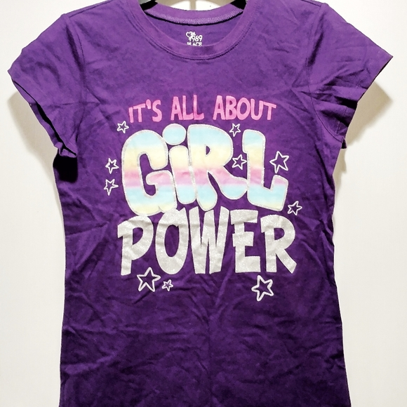 NWT Girls Tee The Children's Place Size 14 Purple